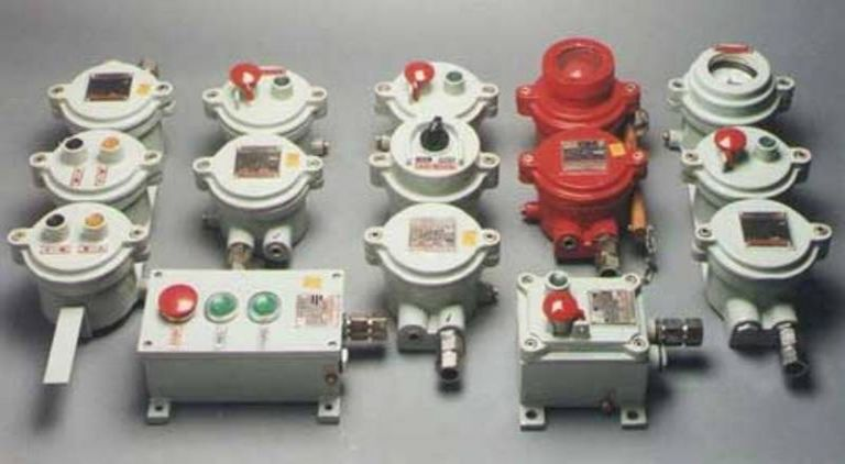 Flameproof Push Buttons